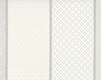 Low Volume Lollies by Jen Kingwell Designs for Moda - Ivory - Natural - 18200 12 - 1/2 Yard Cotton Quilt Fabric