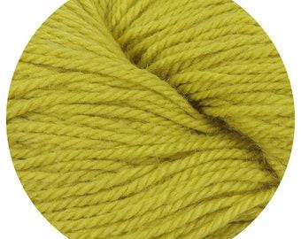 mustard weepaca by Big Bad Wool - light worsted yarn - 50% fine washable merino and baby alpaca - 95 yards