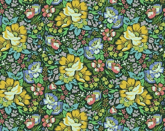 Love Always by Anna Maria Horner for Free Spirit - Overachiever - Forest - PWAH083 - Select a Size - Cotton Quilt Fabric