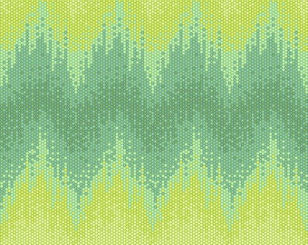 Zuma by Tula Pink for Free Spirit - High Tide - Seaglass - FQ Fat Quarter yard cotton quilt fabric 8-21