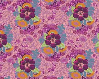 Hindsight by Anna Maria Horner for Free Spirit Fabrics - Piecework - Rose - BTHY Yard - Cotton Quilt Fabric 9-21