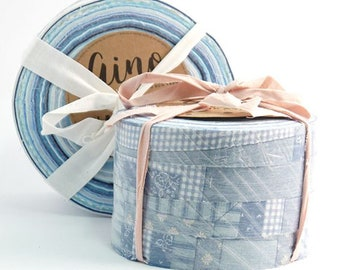 Shades of Blue - Aino Rag Rug yarn by Lankava