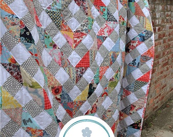 Kaleidoscope by Emma Newman for Emma Mary Designs - Print Quilt Pattern