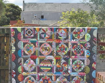 The Circle Game Quilt Pattern Book by Jen Kingwell Designs