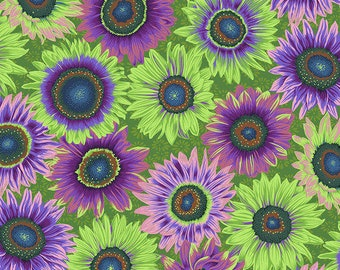 Kaffe Fassett Collective - Philip Jacobs - August 2021 - Van Gogh - Green - PWPJ111.GREEN - Select a Size - 100% Cotton Quilt Fabric