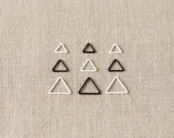 Triangle Stitch Markers by Cocoknits