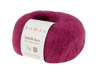 Rowan - Kidsilk Haze - Kid Mohair - 230Yds. - 25 Gg - Lace Weight Yarn - Choose Your Color