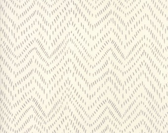 Bramble by Gingiber for Moda - Points - Cream - Grey - 48286 21 100% Cotton Quilt Fabric BTHY Yard 921