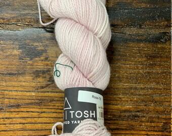 Rose 78 Farm Twist by Mad Tosh Yarns Madelinetosh  - Skein of Hand-Dyed DK Weight 100% Superwash Merino Wool