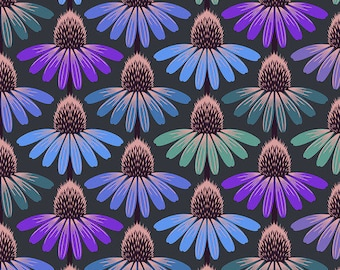Love Always by Anna Maria Horner for Free Spirit - Echinacea Glow - Amethyst - PWAH149 - Select a Size - Cotton Quilt Fabric
