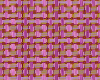 Bright Eyes by Anna Maria Horner for Free Spirit - In Town - AH158 Sweet - FQ BTHY Yard - Cotton Quilt Fabric 9-21
