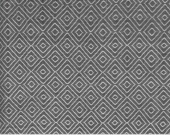 Low Volume Diamond Silver Grey Woven 18201 19 by Jen Kingwell for Moda - FQ Fat Quarter BTHY Yard - Cotton Quilt Fabric
