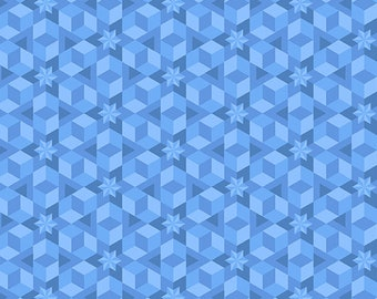 SALE Diving Board by Alison Glass for Andover Fabrics - Starfish - Ocean - A-8638-B - Cotton Quilt Fabric - BTHY Yard
