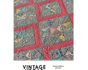 Vintage Vegas Print Pattern by Louise Papas for Jen Kingwell Designs