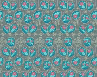 Sweet Dreams by Anna Maria Horner for Free Spirit - Native - Gin - 1/2 yard Cotton Quilt Fabric