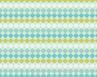 Mod Cloth by Sew Kind of Wonderful  - Beads Earth SK001.EARTH - Cotton Quilt Fabric -Fat Quarter FQ BTHY Yard