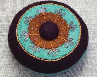Circles & Stitches - Pincushion Kit - by Local Farm Girl