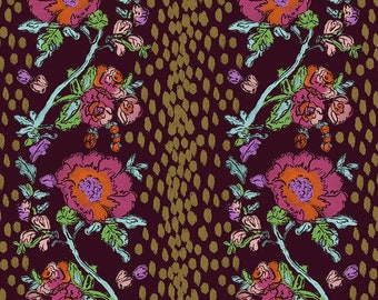 SALE Flower Market by Courtney Cerruti - Anna Marias Conservatory FreeSpirit - Peony Path - Garden - FQ BTHY Yard - Cotton Quilt Fabric 9-21
