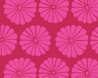 Kaffe Fassett Collective - Damask Flower - Magenta - PWGP180 - FQ BTHY Yard -100% Cotton Quilt Fabric 921