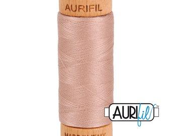 Aurifil Antique Blush Cotton Mako Thread - 80wt - 280m - BMK80 2375