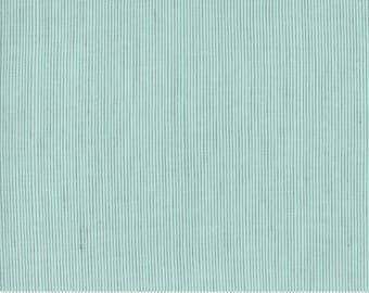 Grainline Wovens by Jen Kingwell for Moda - Grainline - Spearmint - Aqua - 18180 17 - Select a Size - Cotton Quilt Fabric