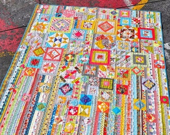 Wanderer's Wife (Previously Gypsy Wife) Quilt Pattern Book by Jen Kingwell Designs