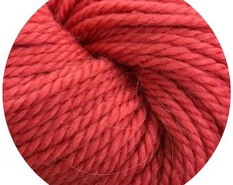 katie bug weepaca by Big Bad Wool - light worsted yarn - 50% fine washable merino and baby alpaca - 95 yards