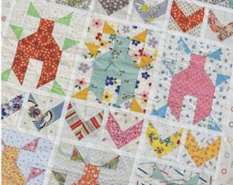 The Love Bug Print Pattern by Lucy Carson Kingwell for Jen Kingwell Designs