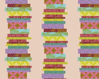 Hindsight by Anna Maria Horner for Free Spirit Fabrics - The Classics - Guava - FQ BTHY Yard - Cotton Quilt Fabric 9-21