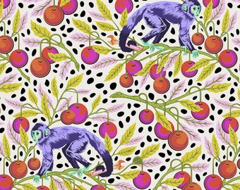 Monkey Wrench by Tula Pink for Free Spirit - Monkey Wrench - Mango - Cotton Quilt Fabric - Choose Your Size 8-21+B