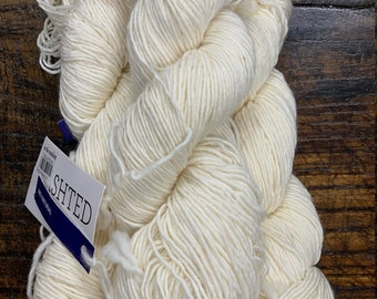 Natural 63 Washted Worsted Malabrigo Yarn - Kettle Dyed Pure Merino Wool