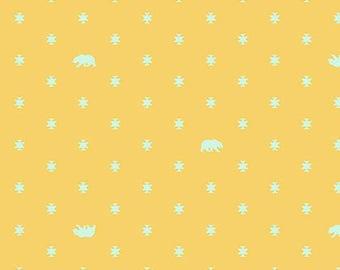 Spirit Animal by Tula Pink for Free Spirit - Bear Hug - Sunkissed - Cotton Quilt Fabric 8-21+B