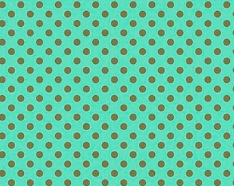 All Stars by Tula Pink for Free Spirit - Pom Poms - Agave - Cotton Quilt Fabric - Choose Your Size