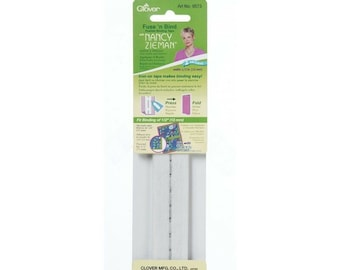 Fusible Binding Tape by Clover - 1/2-Inch - 2-Yard - #9573