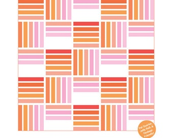 Blakely Quilt Pattern by Then Came June - Print Pattern
