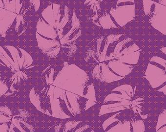 Mod Cloth by Sew Kind of Wonderful  - Plustera Fire SK003.FIRE- Cotton Quilt Fabric - Fat Quarter FQ BTHY Yard