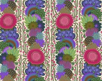 Bright Eyes by Anna Maria Horner for Free Spirit - Brimming - Cream - FQ BTHY Yard - Cotton Quilt Fabric 9-21