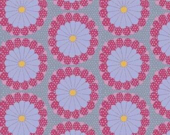 Artisan by Kaffe Fassett for Free Spirit - KF008 Kyoto - Pink - 1/2 Yard Cotton Quilt Fabric 1021