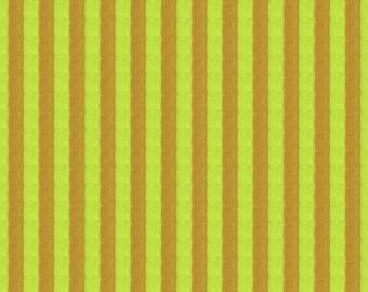 Kaffe Fassett - Narrow Stripe Woven SSGP002 Sulfur - Quilt Fabric - FQ BTHY Yard Cotton Quilt fabric 1021