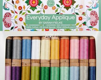Aurifil 80wt Everyday Applique by Sarah Fielke