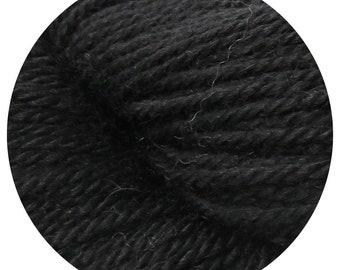 night owl weepaca by Big Bad Wool - light worsted yarn - 50% fine washable merino and baby alpaca - 95 yards
