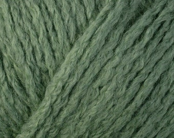 Green Fern Vibe 1542 Lot 2959 Berroco Organic Cotton & Organic Wool Chunky Yarn
