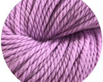violet weepaca by Big Bad Wool - light worsted yarn - 50% fine washable merino and baby alpaca - 95 yards