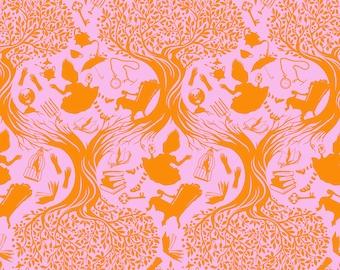 Curiouser & Curiouser by Tula Pink - Down the Rabbit Hole Wonder - TP166.WONDER Cotton Quilt Fabric - Fat Quarter fq BTHY Yard