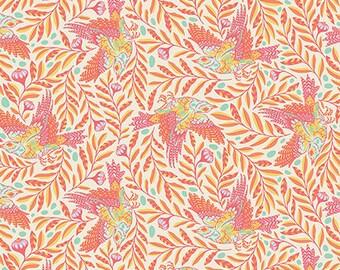 Spirit Animal by Tula Pink for Free Spirit - Re-Tweet - Sunkissed - Cotton Quilt Fabric 8-21