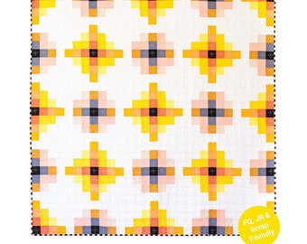 Granny Cabin Quilt Pattern by Then Came June - Print Pattern