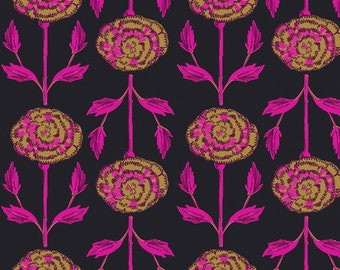 Flower Market by Courtney Cerruti - Anna Maria's Conservatory by FreeSpirit - Carnations - Morning - FQ BTHY Yard - Cotton Quilt Fabric 9-21