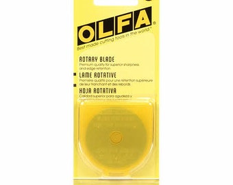 Olfa 45mm Single Blade Replacement for Olfa Rotary Cutter