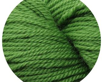 tree frog weepaca by Big Bad Wool - light worsted yarn - 50% fine washable merino and baby alpaca - 95 yards