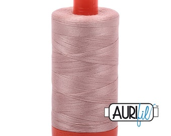 Aurifil Antique Blush Cotton Mako Thread - 50wt - 1300m - MK50 2375